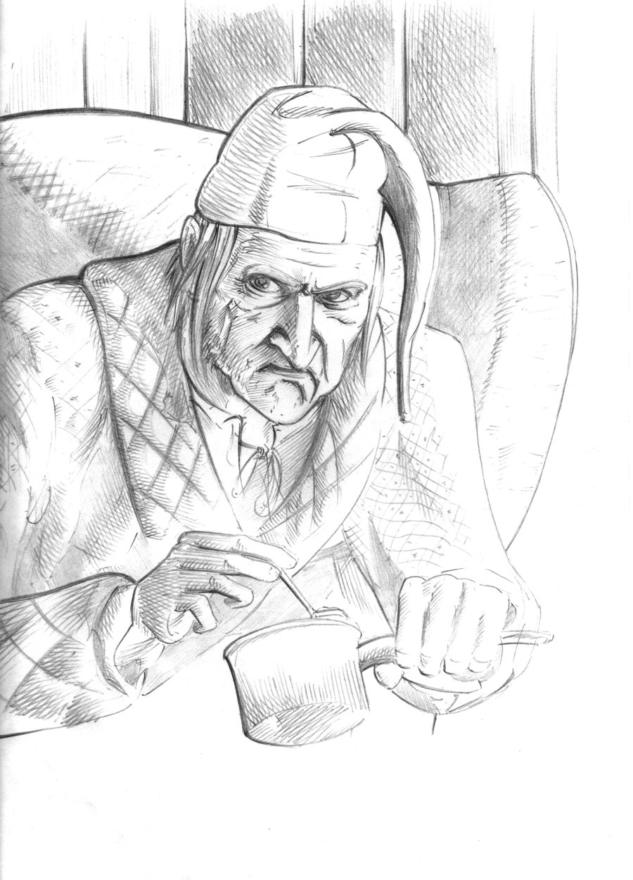a christmas carol coloring pages - photo#49
