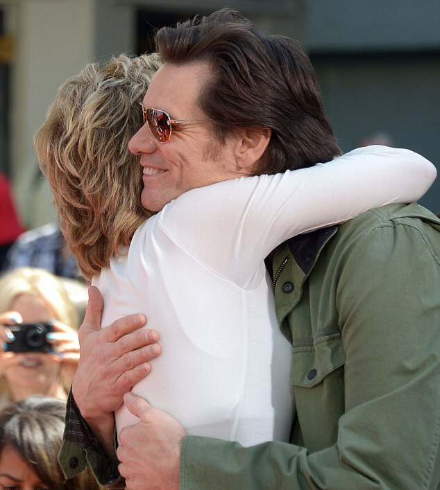 Jim Carrey and jane Fonda