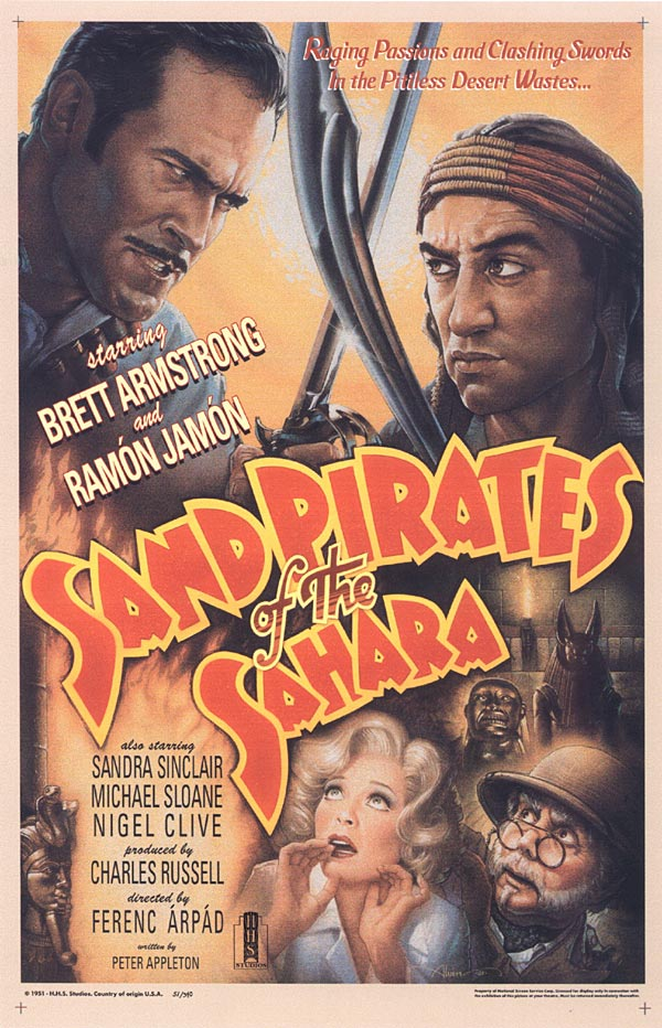 'Sand Pirates Of The Sahara'