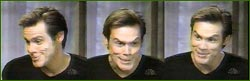 Jim Carrey does the Grinch faces at The Today Show