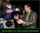 Jim Carrey at The Grinch premiere