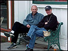 Frank Darabont and Director of Photography, David Tattersall