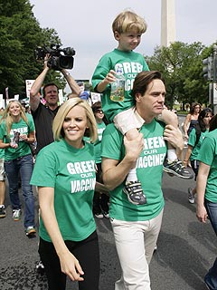 jim carrey jenny mccarthy green the vaccine