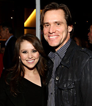 Jane and Jim Carrey