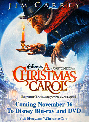 """A Christmas Carol"" on DVD/Blu-ray in November"